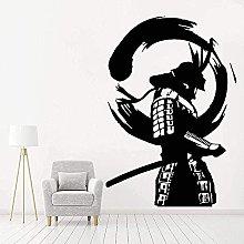 Adesivo Murale Decorazione Decalcomania Samurai