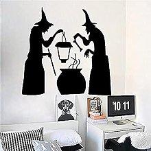 Adesivo murale Decorazione di Halloween Soggiorno