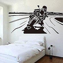 Adesivo murale Decorazione murale Adesivo Moto da
