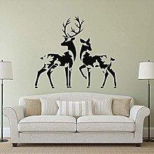 Adesivo Murale Design Decalcomania Animale Adesivo
