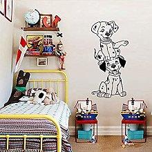 Adesivo murale di cartone animato cane dalmata