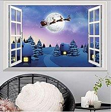Adesivo Murale Di Natale Per Camerette Adesivi