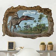 Adesivo murale - Dinosaur Paesaggio Dimensione