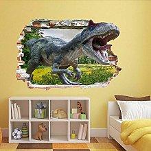 Adesivo Murale Dinosauro 3D Adesivo Murale