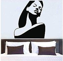 Adesivo Murale Donna Design Murale Soggiorno