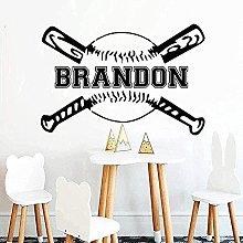 Adesivo Murale Fai Da Te Baseball Adesivo Murale