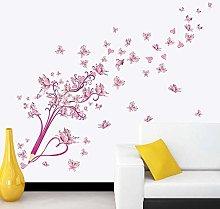 Adesivo Murale Farfalla Creativa Farfalle Volanti