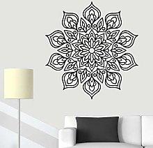 Adesivo murale fiore mandala Decorazione murale