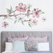 Adesivo murale fiori - Ramo di ciliegio effetto