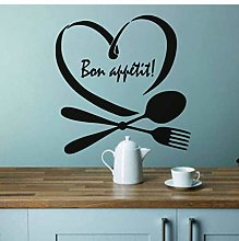 Adesivo Murale Frasi Frase Per Cucina Decorazioni