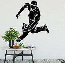 Adesivo murale giocatore di baseball catcher