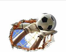 Adesivo Murale Gioco Di Calcio Adesivi 3D