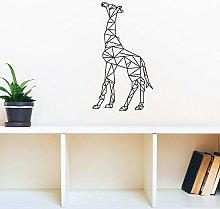 Adesivo murale giraffa geometrica Adesivo murale