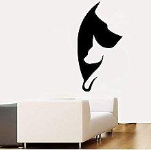 Adesivo Murale Grafico Per Cani E Gatti