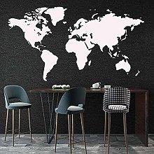 Adesivo murale grande Adesivi murali mappa del