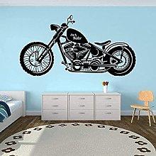 Adesivo murale grande motore per motocicletta