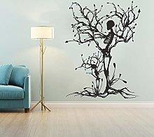 Adesivo murale Halloween Decor Scheletro Art