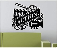 Adesivo Murale Home Cinema Film E Azione Citazioni