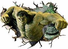 Adesivo Murale Hulk Avengers Adesivo In Pvc