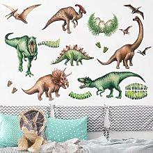 Adesivo murale - Il mondo dei dinosauri Dimensione