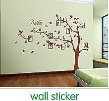 Adesivo murale in pvc con foto di famiglia adesivo