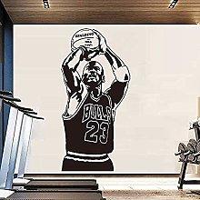 Adesivo murale in vinile adesivo creativo NBA