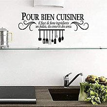 Adesivo murale in vinile rimovibile cucina