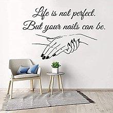 Adesivo murale in vinile rimovibile Decal Salon