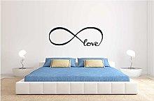 Adesivo murale Infinito Love per Camera da Letto.