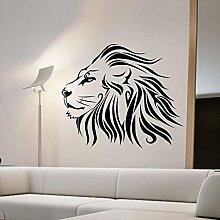 Adesivo Murale Leone Moda Animale Decorazione