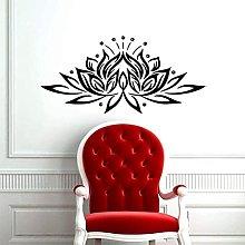 Adesivo murale loto Adesivo murale in vinile yoga