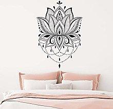 Adesivo Murale Lotus Adesivo Murale Vinile Mandala