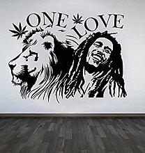 Adesivo Murale Love Removable Vinyl Poster Home