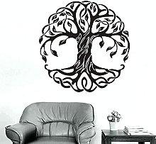 Adesivo murale Mandala Albero rotondo Adesivo