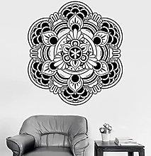 Adesivo Murale Mandala Lotus Decalcomania In