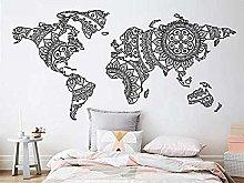Adesivo Murale Mappa Mondo Adesivo Murale Mappa