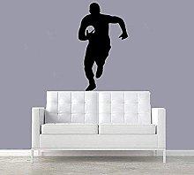 Adesivo Murale Moda Calcio Rugby Adesivo Murale