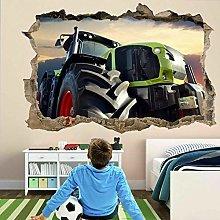 Adesivo murale moderno trattore Adesivo murale