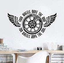 Adesivo murale moto Adesivo murale moto mobile a