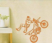 Adesivo Murale Motocross - Adesivi Murali Bambini