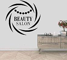 Adesivo murale Murale Beauty Salon Sticker Wall