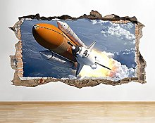 Adesivo murale NASA Space Shuttle Earth Planet