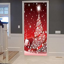 Adesivo murale natalizio 3D personalizzato per