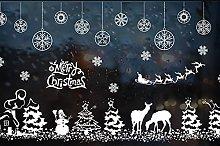 Adesivo murale natalizio decorazione della casa