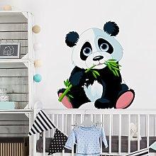 Adesivo murale Nibbling Panda Dimensione L×H: