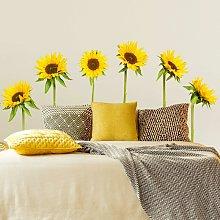 Adesivo murale no.193 Sunflowers Dimensione L×H: