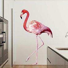Adesivo murale no.YK21 Pink Flamingo Dimensione