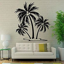 Adesivo murale palme Alberi tropicali Adesivo