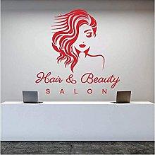 Adesivo murale Parrucchiere Salone di bellezza