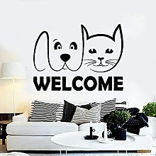 Adesivo murale per animali domestici Negozio di